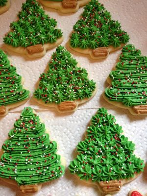 Christmas Christmas Cookies Decorated Christmas Cookie Frosting Christmas Sugar Cookies