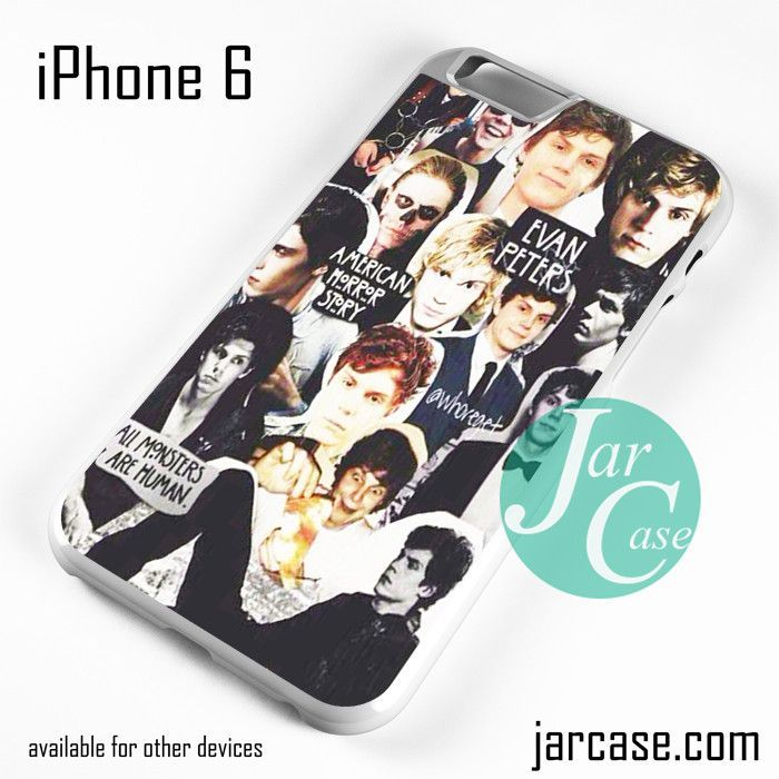 American Horror Story Evan Peters Collage Phone case for iPhone 6 and other iPhone devices