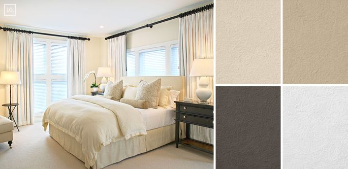 Nice Bedroom Color Ideas: Paint Schemes And Palette Mood Board
