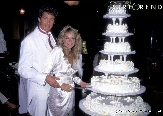 David Hasselhoff Mitch Baywatch And Baywatch Nights Michael Knight Rider And Snapper Y And R And Catherine Hickland Courtney Texas Julie Capitol Frau David