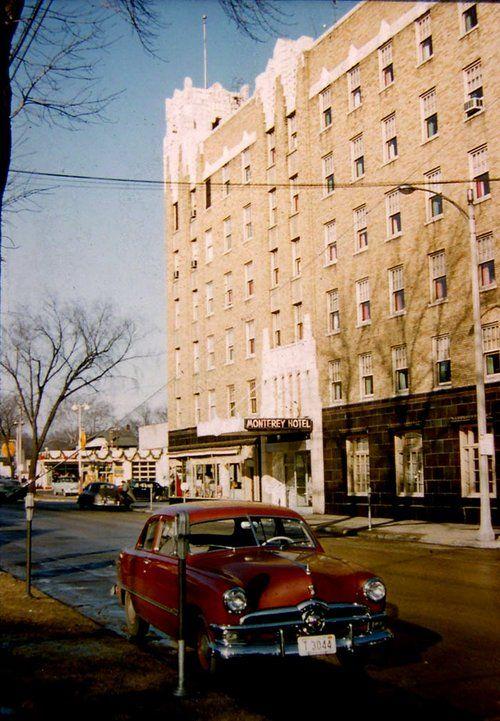 Christmas 1955 Monterey Hotel In Janesville Wisconsin