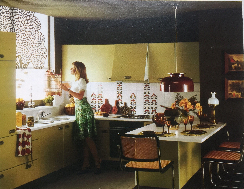 70er Jahre Küche in 2019 Küche 70er, Küchen inspiration