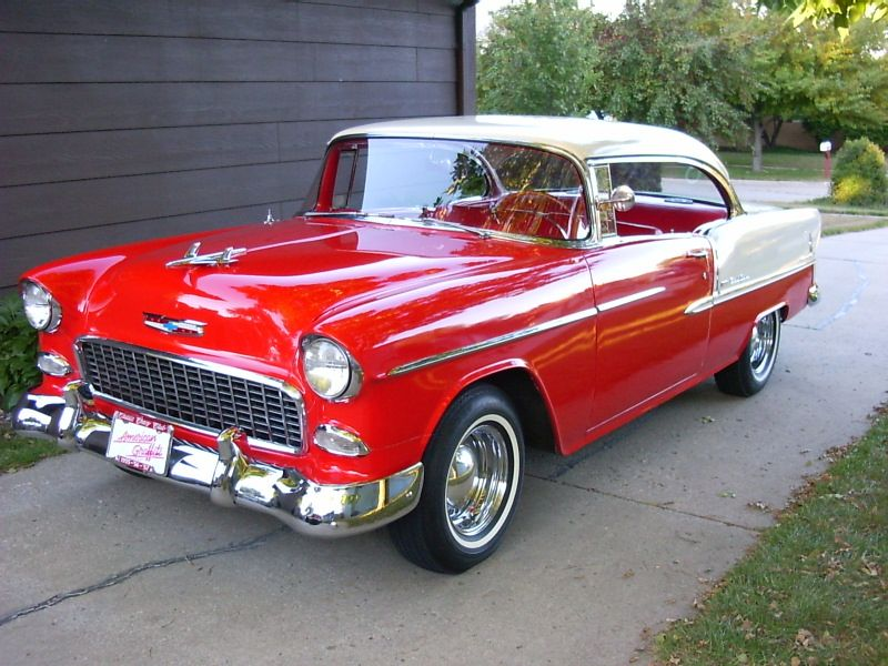 55 Chevy Bowtie Vehicles Cars Classic Cars