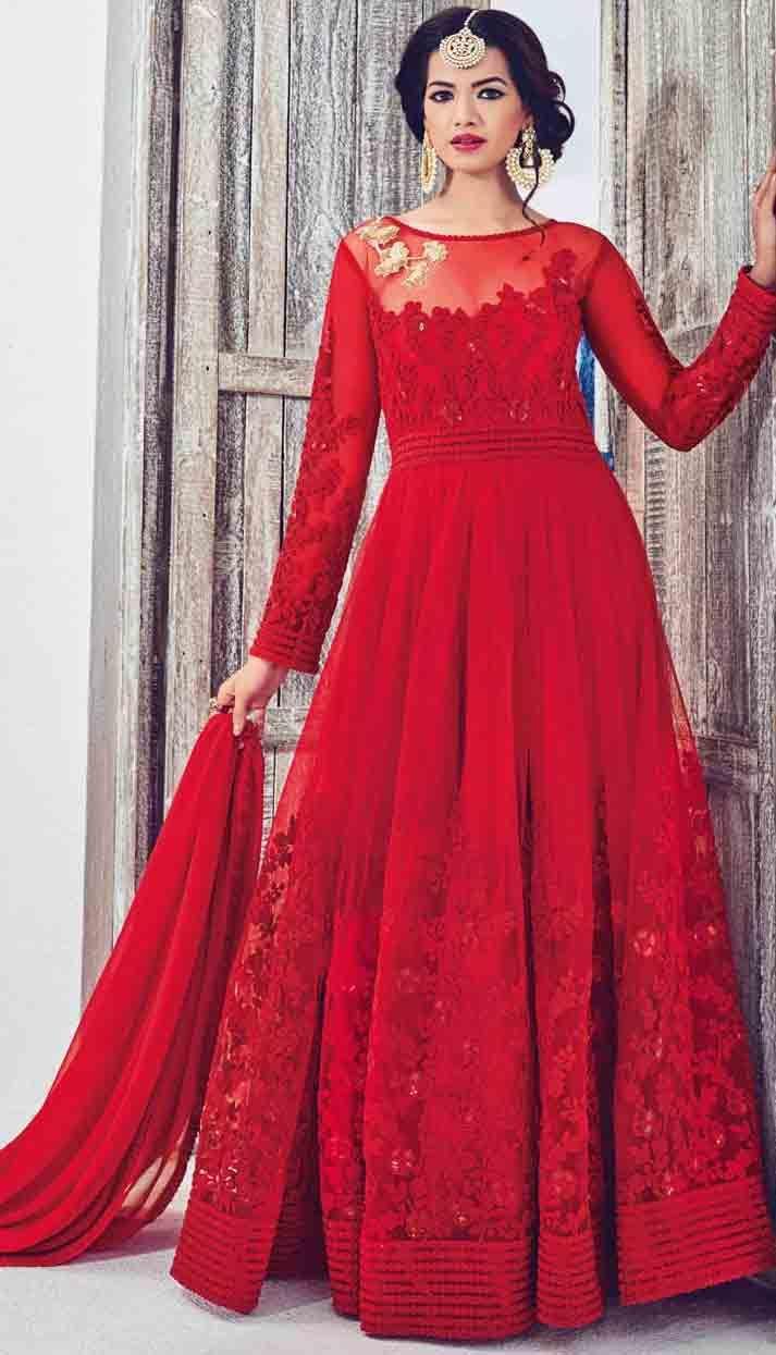f200da60d553 New Party Wear Frock Designs For Girls In 2019 in 2019