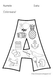Imagini Pentru Litera B Mare De Tipar De Colorat Alphabet