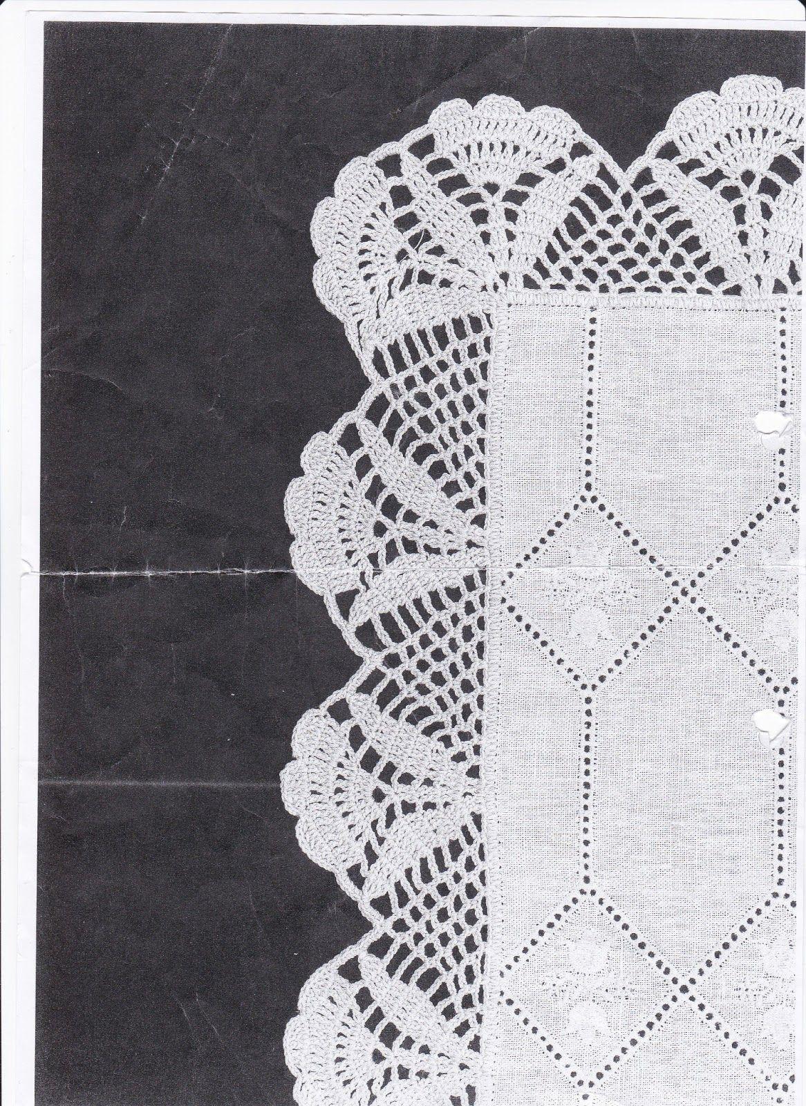 Pin de Phina Moran en BORDES EN CROCHET | Pinterest | Ganchillo ...