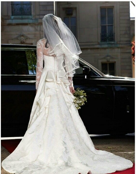 And The Back Is Just Gorgeous Wedding Dresses Princess Kate