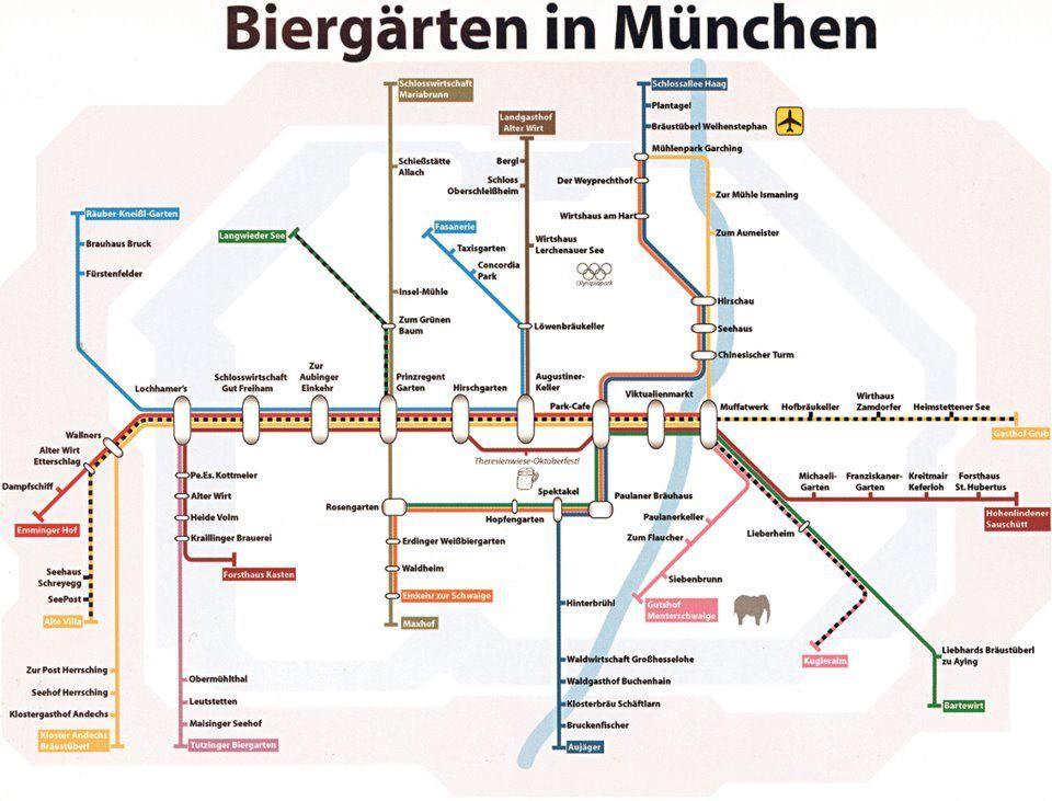 Biergarten In Munchen S Bahn Plan Seiltanz Biergarten Munchen Biergarten Munchen Tipps