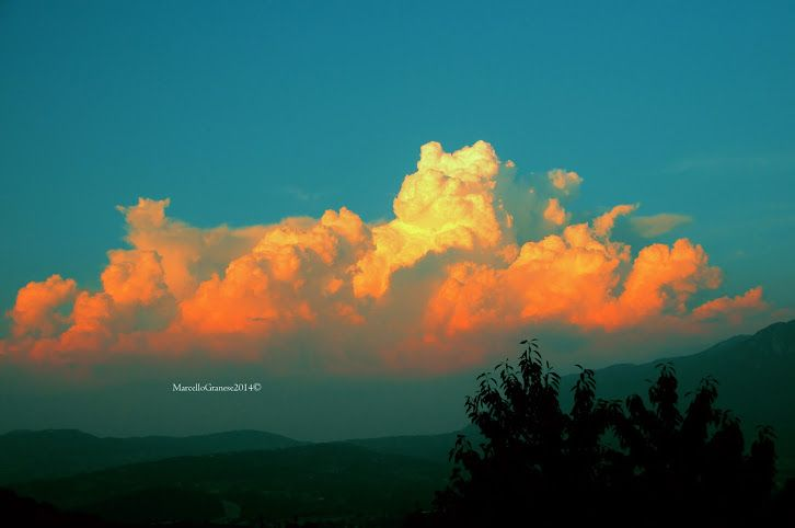 Nubes multicolor