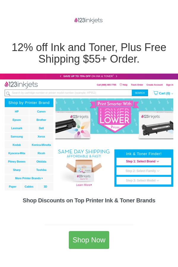 Best Deals And Coupons For 123inkjets In 2020 Toner Printer Ink Cartridges Lexmark