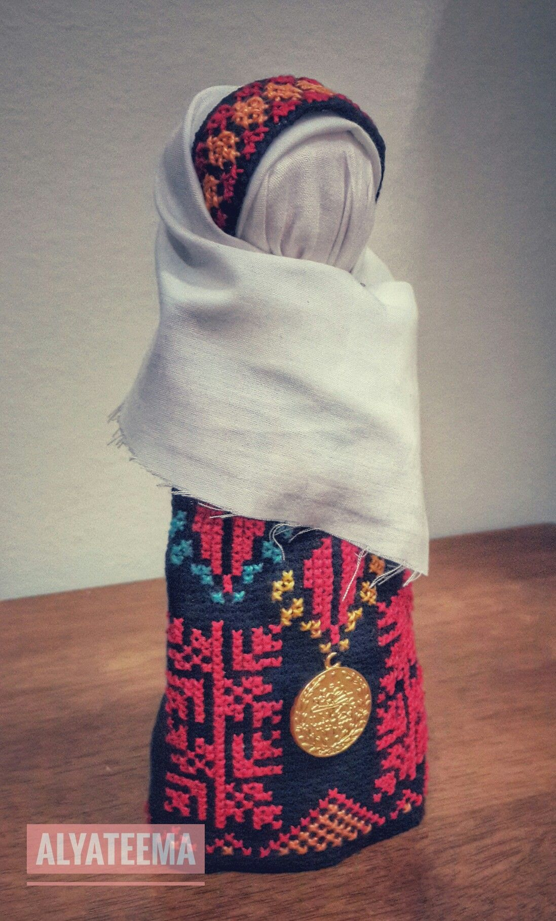 تطريز فلسطيني Cross stitch Palestenian Embroidery | My Done Project ...
