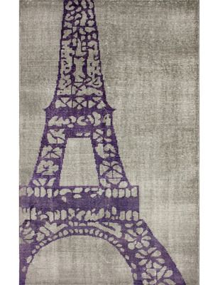 Eiffel Overdyed Hand-Knotted Rug by nuLOOM on Gilt Home