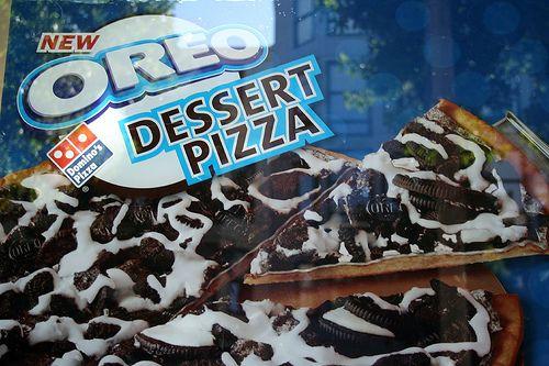 Oreo desert pizza omg!!