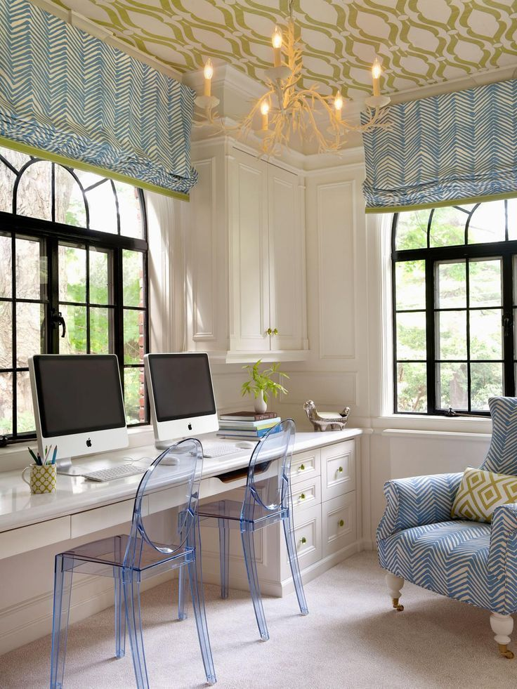 11 Pictures Of Organized Home Offices | Home Remodeling   Ideas For  Basements, Home Theaters
