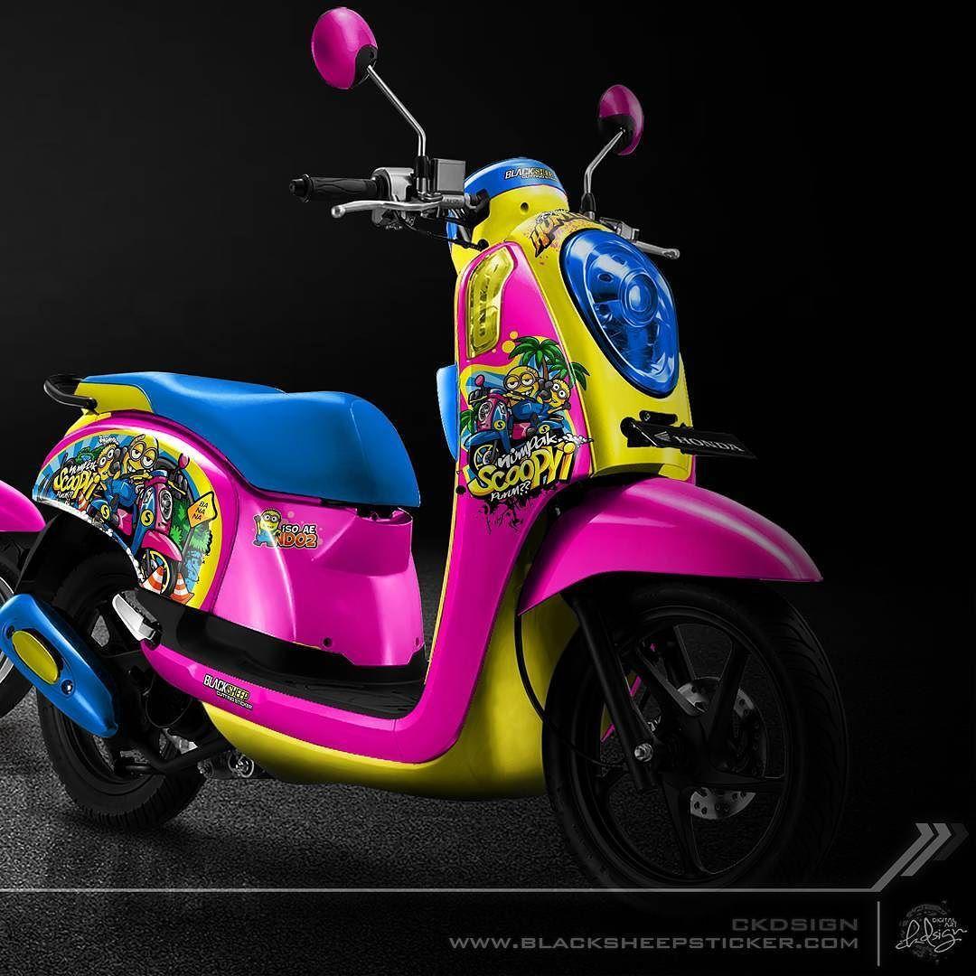 Honda scoopy minion adventure hondascoopy scoopy minion adventure mothai indomothai