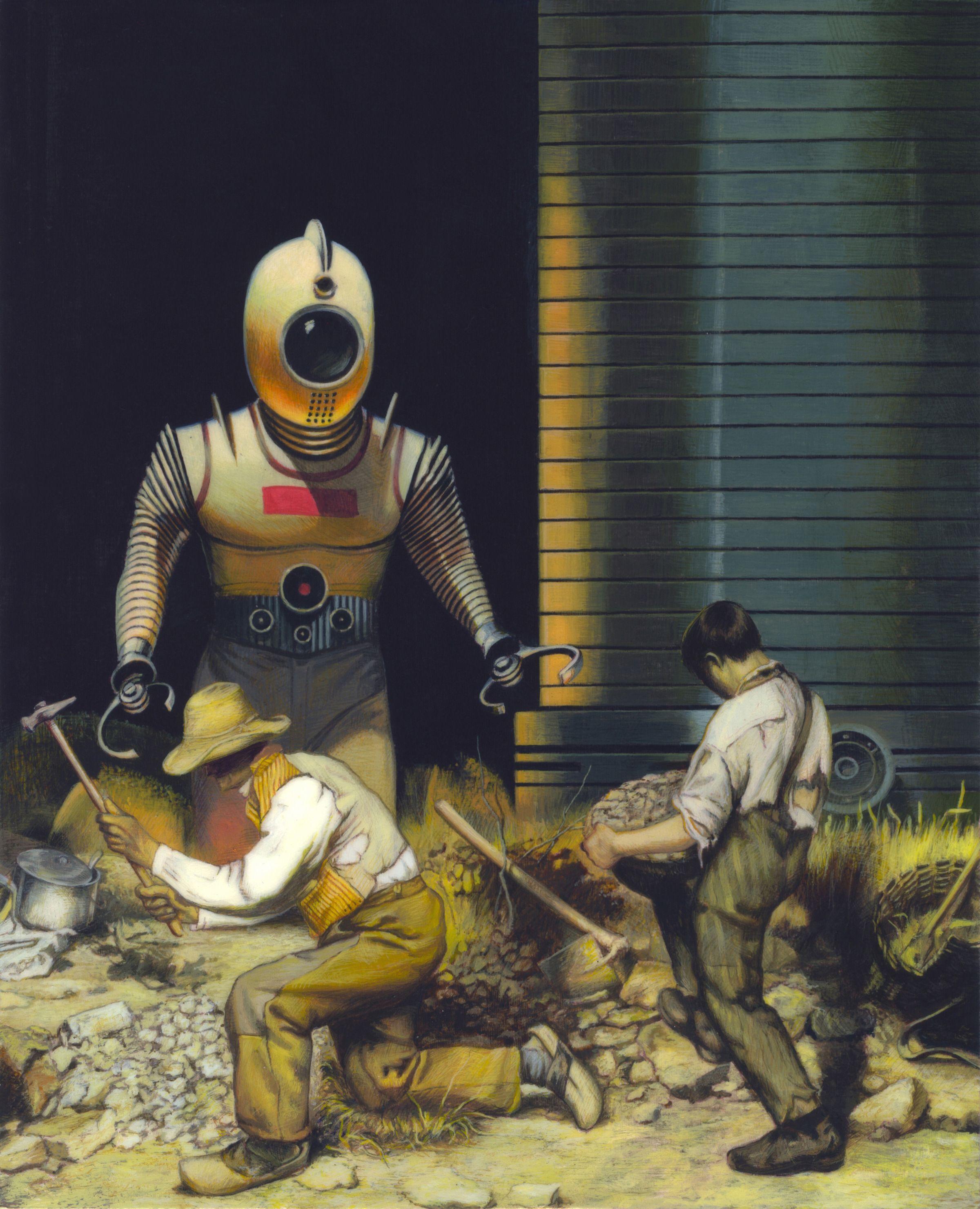 Vintage Sci Fi Art Added A New Photo: Art, Science Fiction