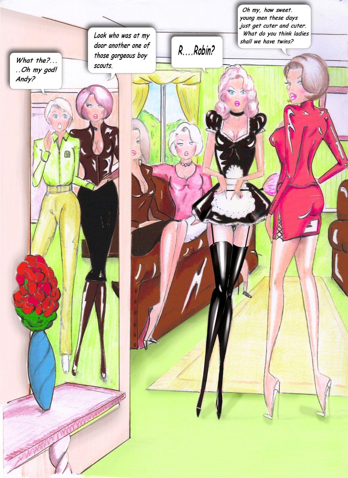 Andy Latex Deviantart sissy online magazine - slubne-suknie