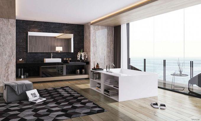 12 Dekoideen für Badezimmer und Badgestaltung Spaces and Interiors - badezimmer design badgestaltung