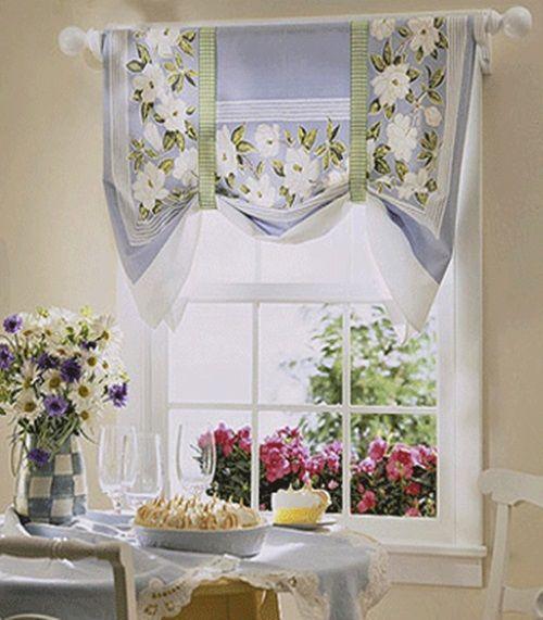 Cottage Kitchen Curtain Ideas