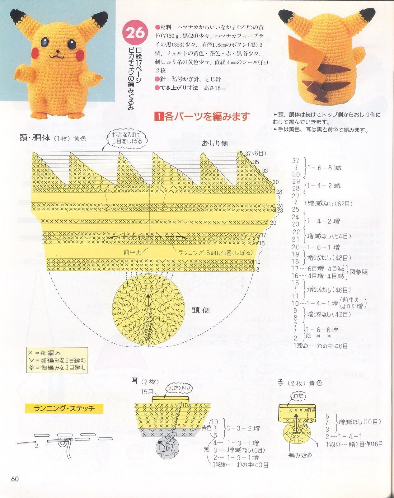 pokemon+%2862%29.jpg (1266×1600) | Amigurumi | Pinterest | Amigurumi ...