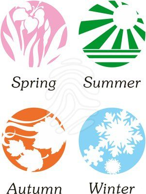 Clip Art Seasons Clipart 1000 images about seasons on pinterest trees space illustration and four seasons