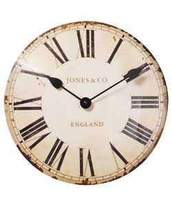 Jones By Newgate Classic Curved Convex Wall Clock