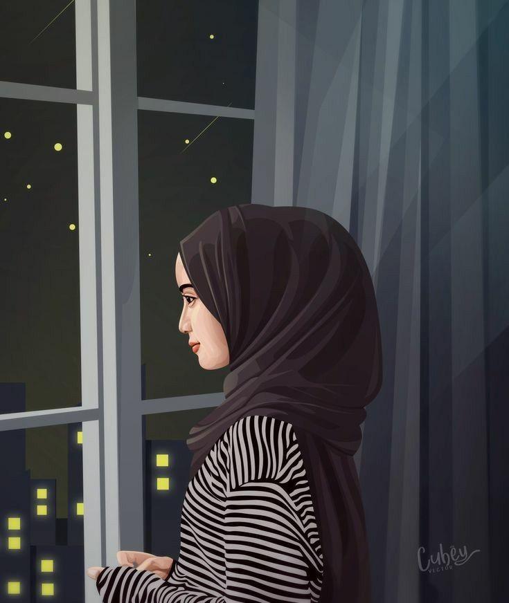 Gambar Kartun Wanita Muslimah Berhijab Terbaru Gambar Kartun Muslimah Kizlar Afgan Kizi Guzel Anime Kiz