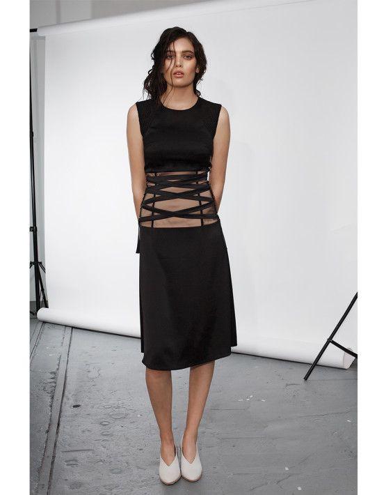 Tie-up Dress