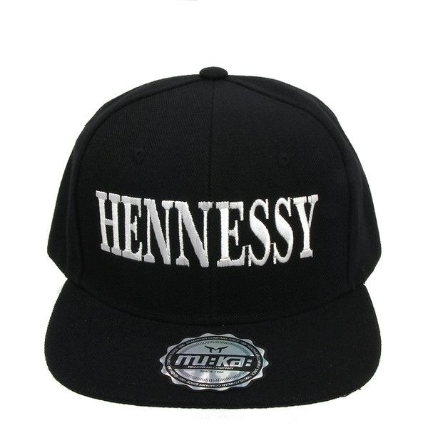 7d7c9e5a61eec Brand New HENNESSY Snapback ❤ liked on Polyvore featuring accessories