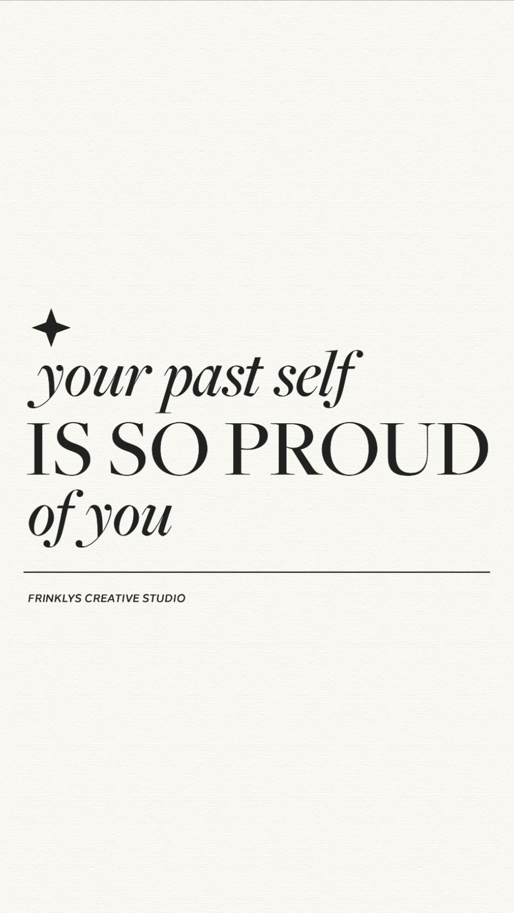 Your Past Self Is So Proud Of You! | Female Business Owners