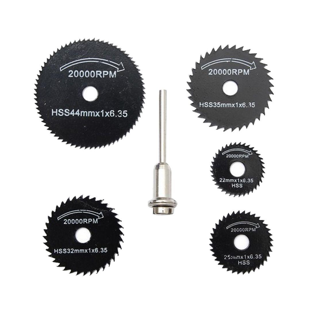 6 шт./компл. Мини HSS пильный диск роторный инструмент для ...