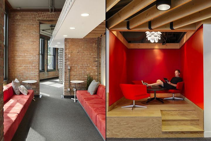 Foyer Office Vancouver : Mozilla yvr office by hughes condon marler architects