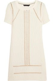 Marc by Marc JacobsQuilted jersey mini dress