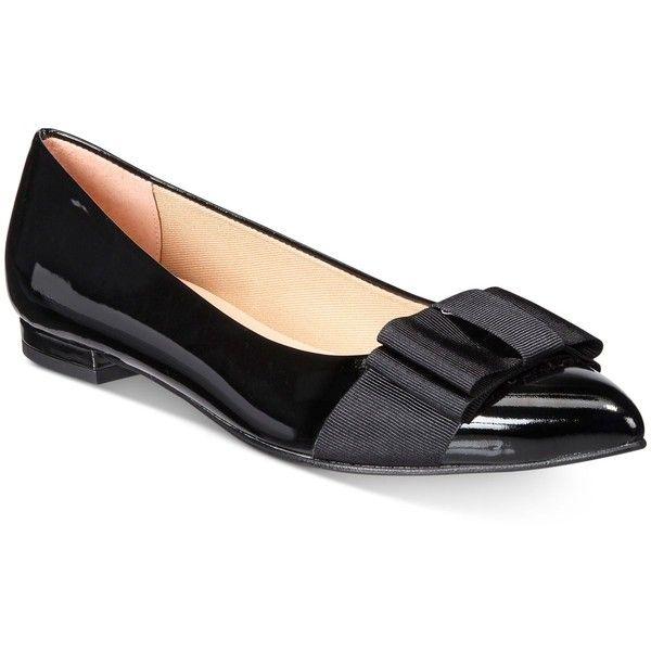 Cheap Footlocker Finishline Buy Cheap Fashionable Flat Heel Almond Toe Bow Embellished Slip On Shoes - BLACK hhYVxS