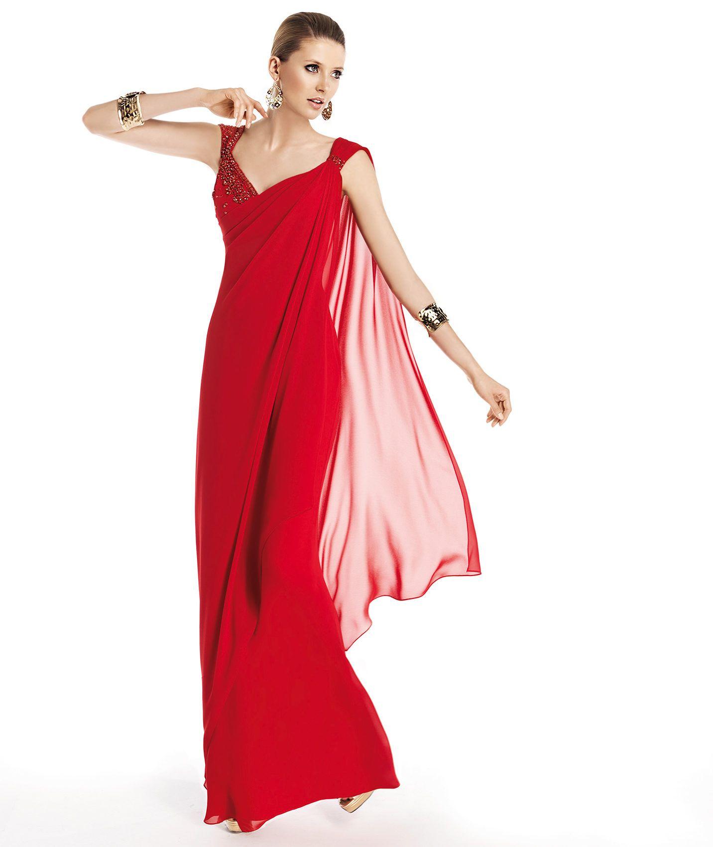 Pronovias te presenta su vestido de fiesta Talaya de la colección ...