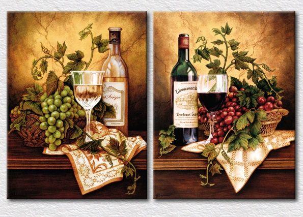 Cuadros decorativos para cocina modernos licores vinos for Cuadros para cocina vintage