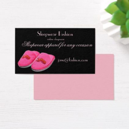 Sleepwear apparel clothing store business card sleepwear apparel clothing store business card office gifts giftideas business reheart Choice Image