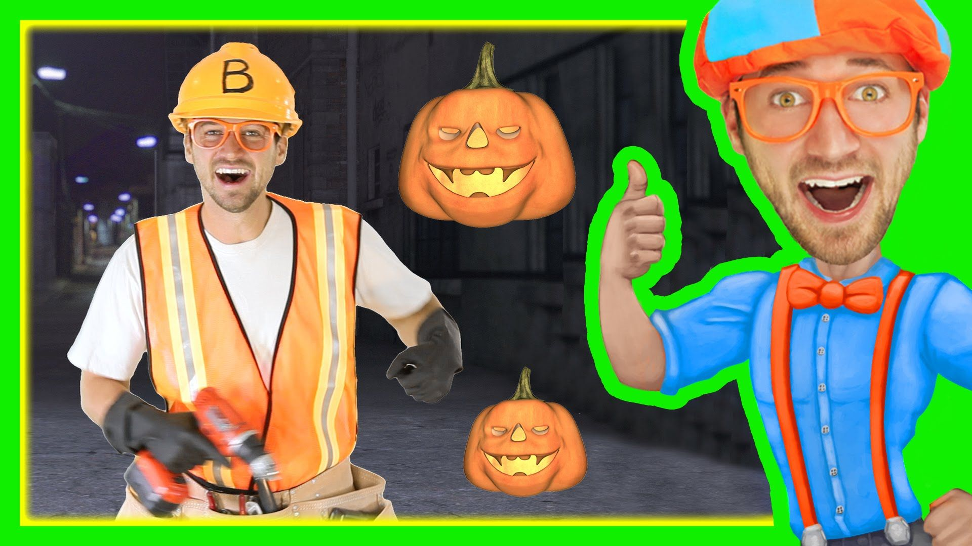 Halloween Songs for Kids with Blippi Trick or Treat
