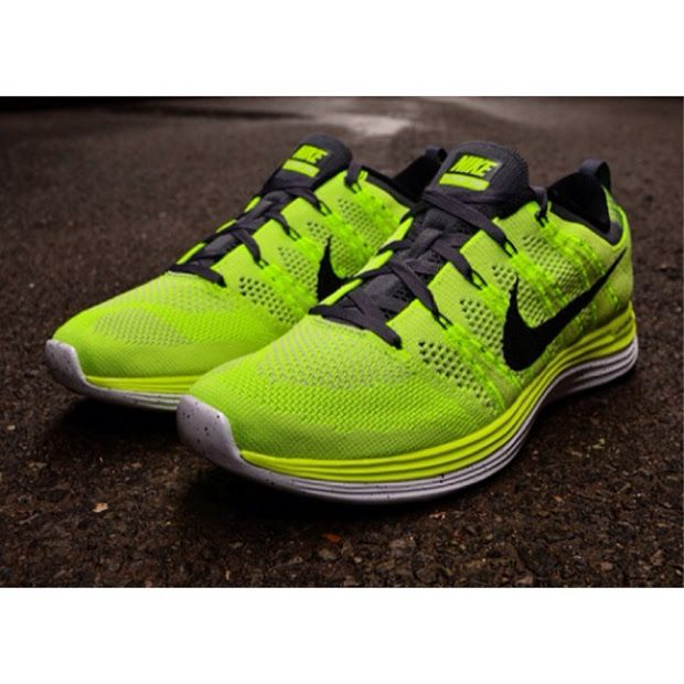 af532d021c76 Nike Flyknit Lunar 1+ in Volt at Foot Locker for  159.99 Free Shipping  nike   flyknit  sneakers