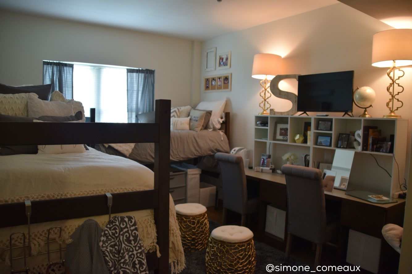 Tcu Milton Daniel Dorm Room College Dorm Rooms Dorm