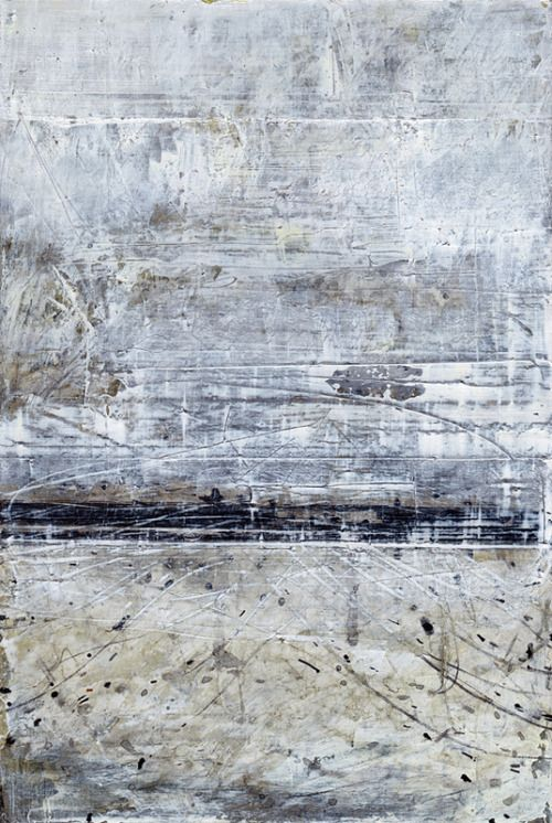 exhibition-ism:  Really dig these texturally rich, abstract, mixed media pieces from artistStephen Croeser. Many more on his website.