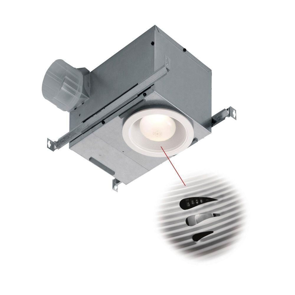Broan Nutone Recessed Bathroom Humidity Sensing Fan / Light   ENERGY STAR    At A Casual Glance, Youu0027d Never Know That A Ventilation Fan Is At Work  Above ...