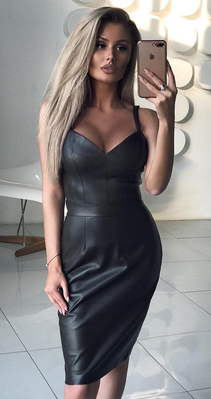 0786b1d84917 Elena Gorodechnaya Vestidos De Moda, Trajes, Brillos, Cuero, Piel, Blusas,