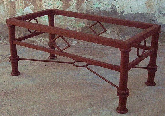 Awesome Southwest New Mexican Iron Furniture, Bar Stools, Tables