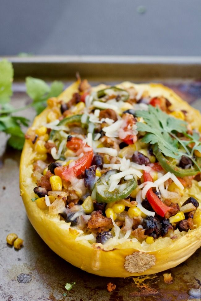 The 11 Best Spaghetti Squash Boat Recipes | The Eleven Best