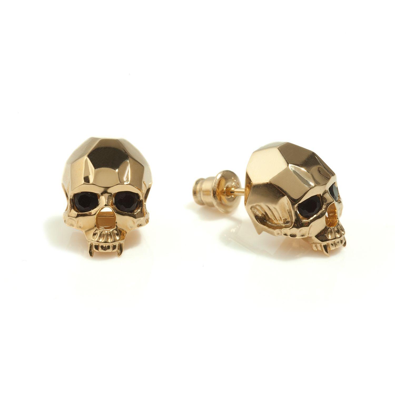 Gold Earrings For Men Andino Jewellery | Supreme Earrings For Men ...
