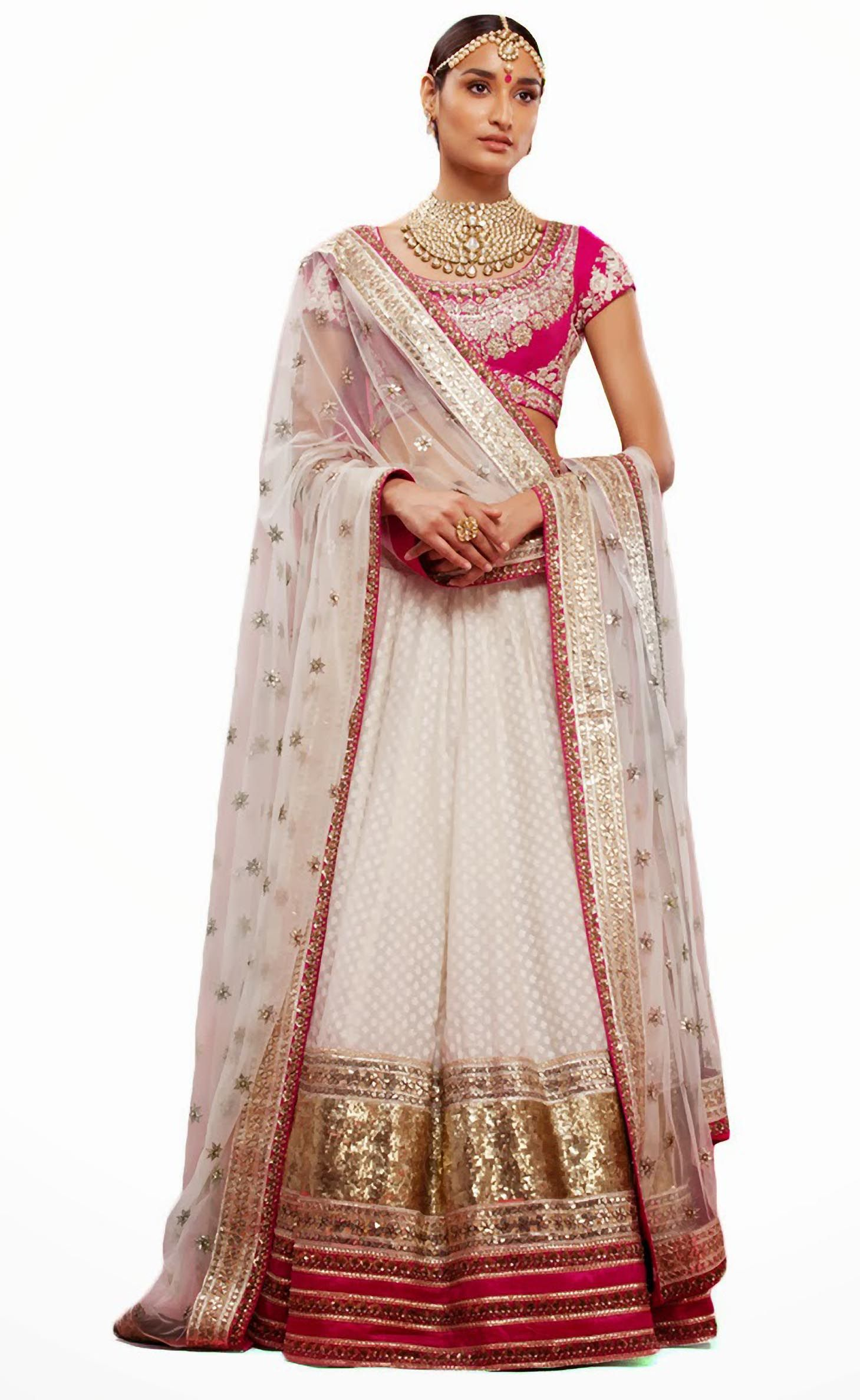 By Sabyasachi romancing with old world charm, to create timeless Bridal wear. -Myfashioncart
