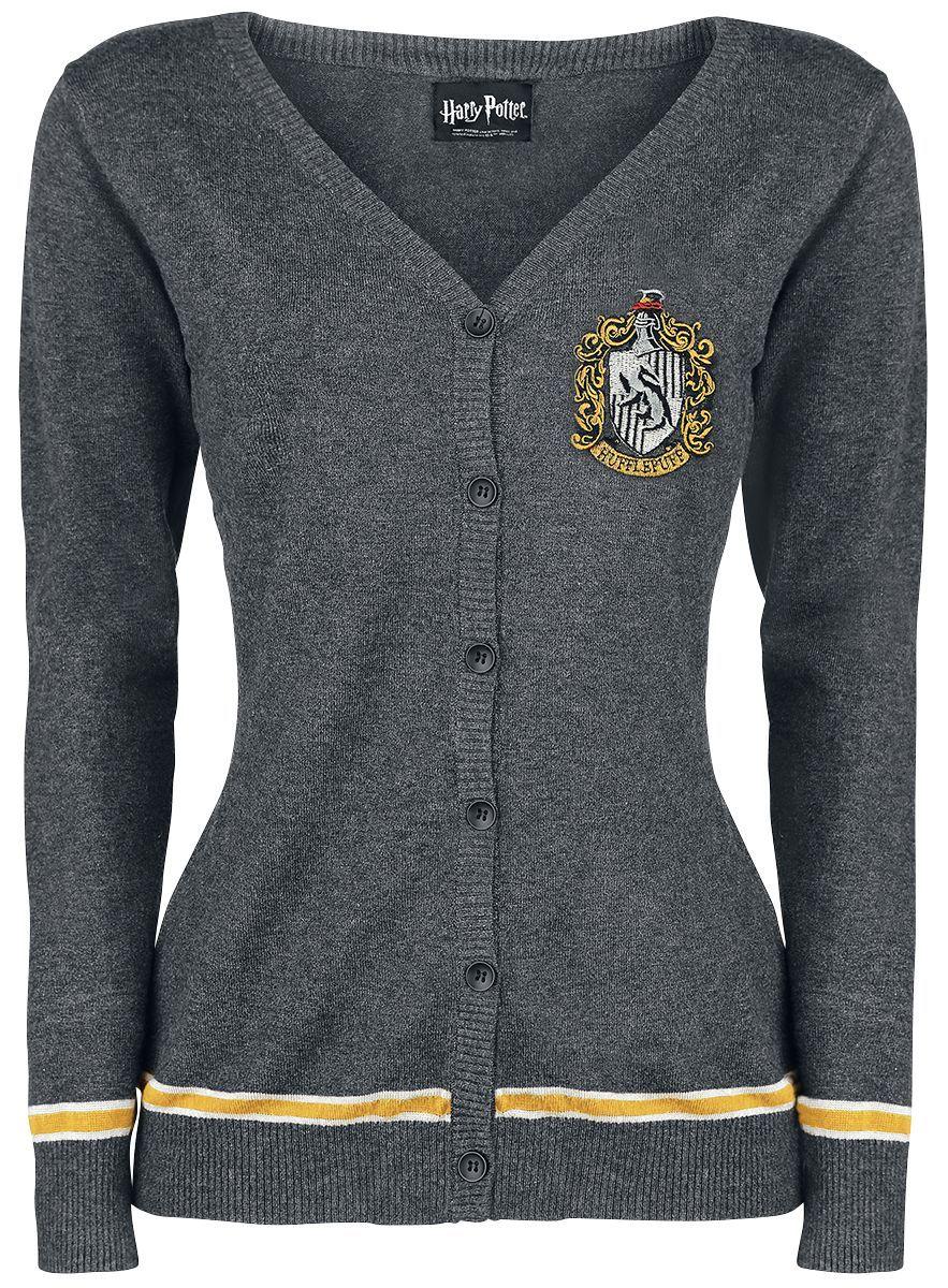 Harry Potter Movie Hufflepuff Crest Adult Hoodie