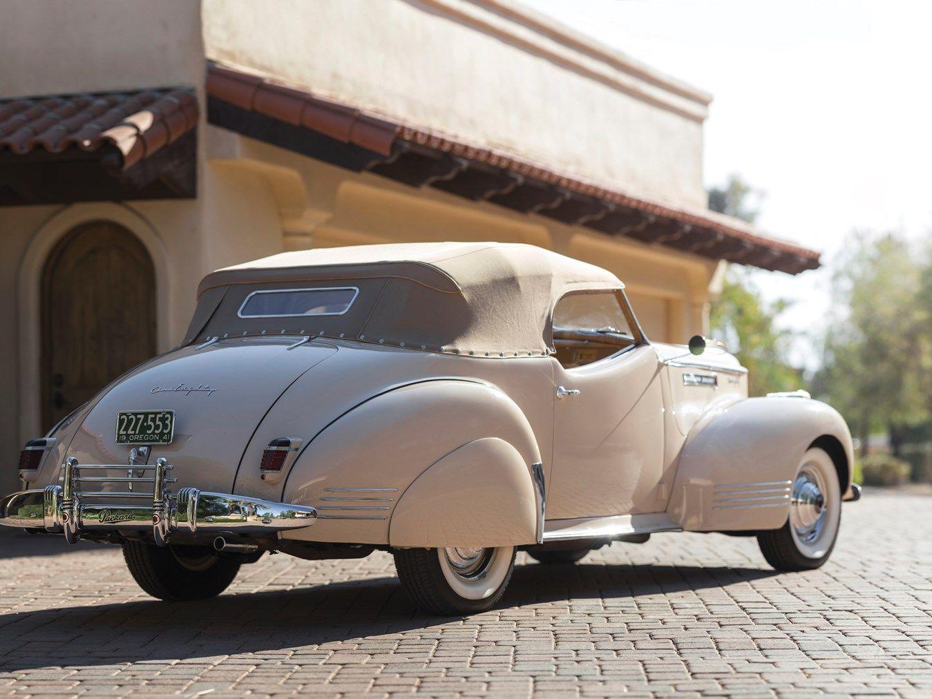 1941 Packard Custom Super Eight One Eighty Convertible