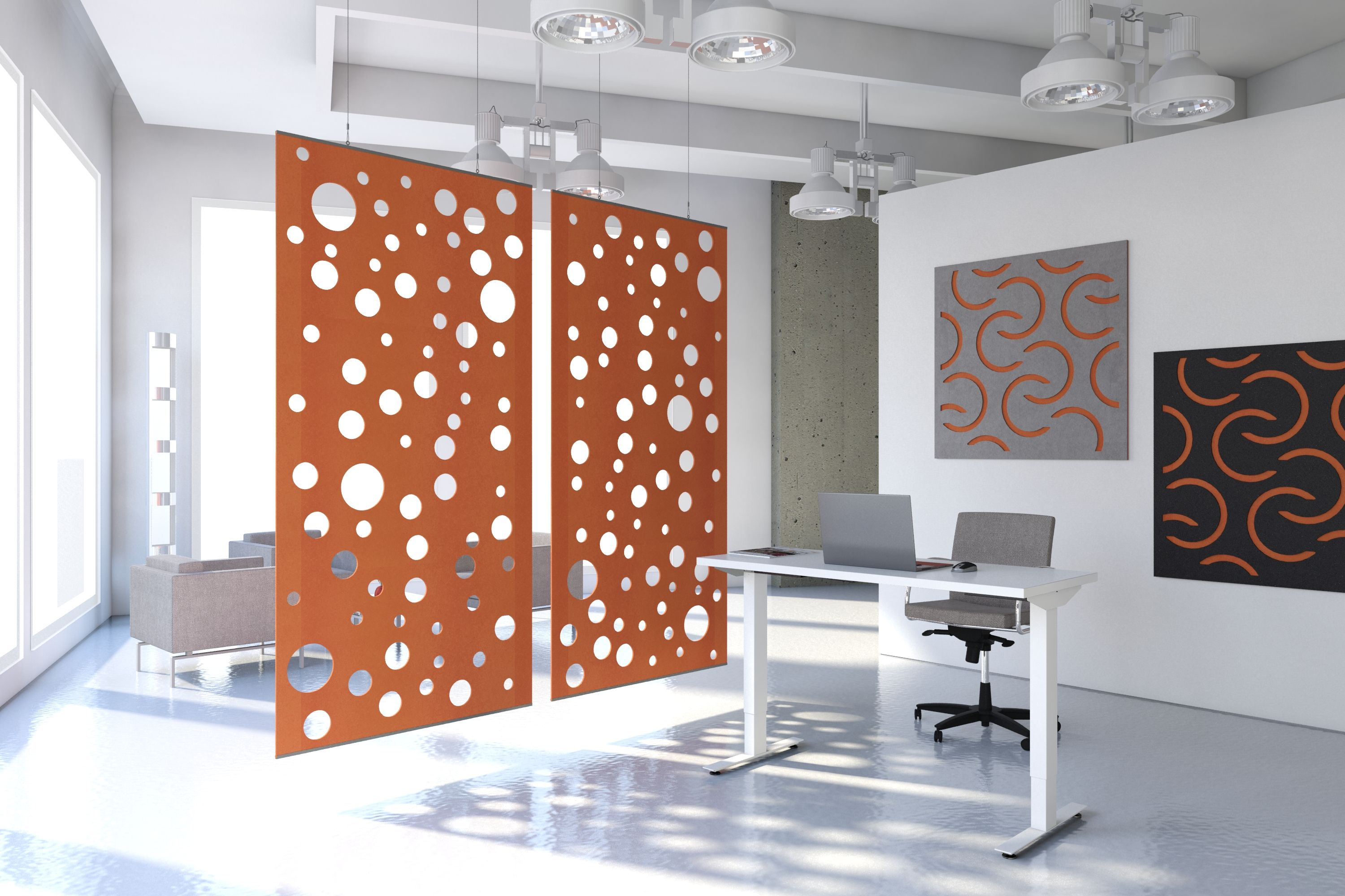 Try Our New Sound Absorbing Echodeco Panels To Help Improve Sound